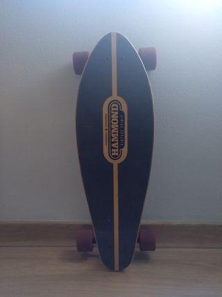 Longboard Hammond carving 35'