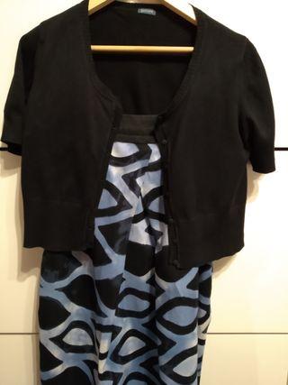 Vestido y chaquetita talla XL/46