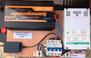 Kit Solar 12v 60A 1000w onda pura