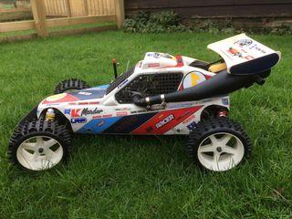 Radio controlled race car