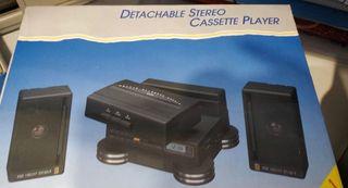 Detachable Stereo Cassette Player