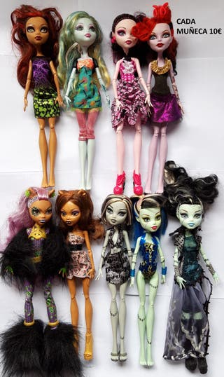MONSTER HIGH MUÑECAS Y ACCESORIOS