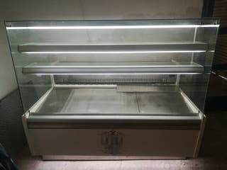 vitrina mostrador frio/neutro panadería pastelería