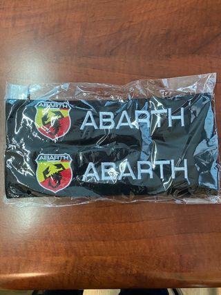 Cubre cinturones Fiat Abarth, nuevo