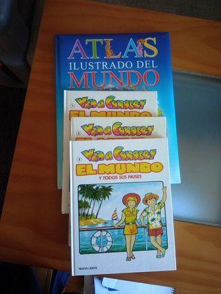 4 libros de Geografía para niños