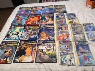 13 Cuentos Disney con CD