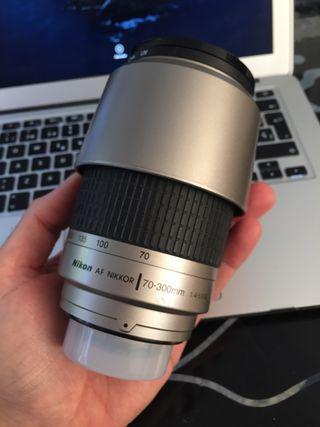 Tele objetivo Nikon 70-300 4-5.6 G AF