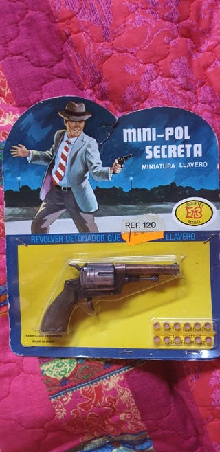 Revolver petardos vintage