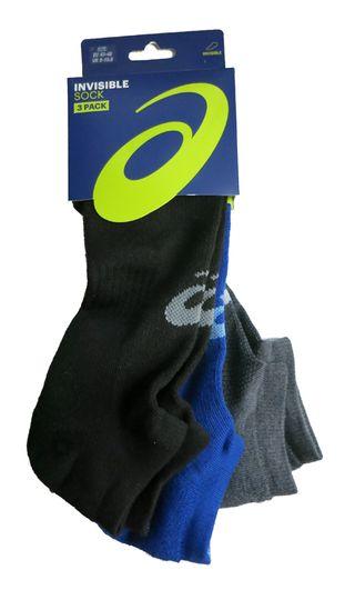 Pack de calcetines de running Asics. Talla:43-46