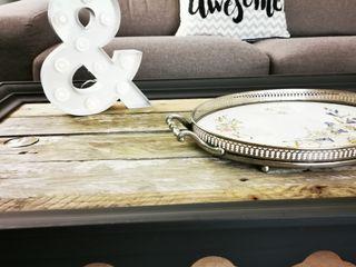 Mueble Mesa Vintage Nordico Industrial