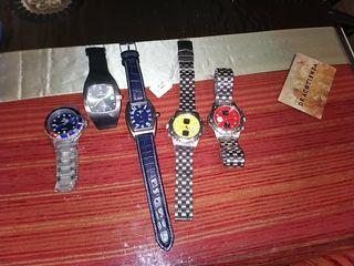 Pack relojes de pulsera