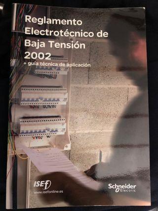 Reglamento electrotecnico baja tension REBT