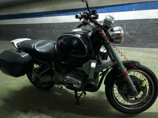 Moto BMW modelo R850 R special edition