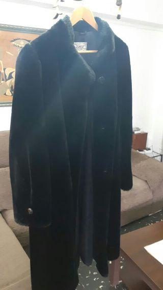 chaquetón de piel chinchilla