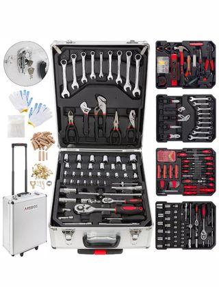 1005 piezas maleta de herramientas trolley caja ma