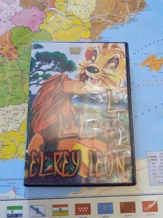 Pelicula Dvd La leyenda del rey leon