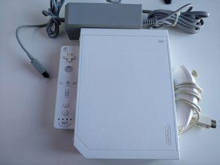 Wii con mando con doulshock