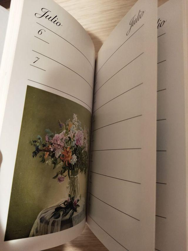 Agenda con pinturas - pequeña
