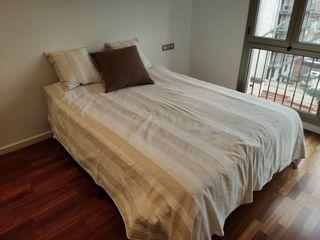 colcha algodon para cama 1,50m