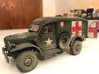 Ambulancia militat italeri 1/35