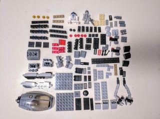 Lote Lego Star wars +2 muñecos