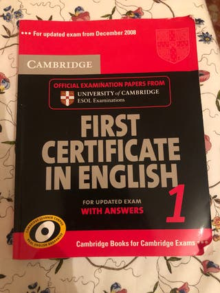 First certificate in English 1 .