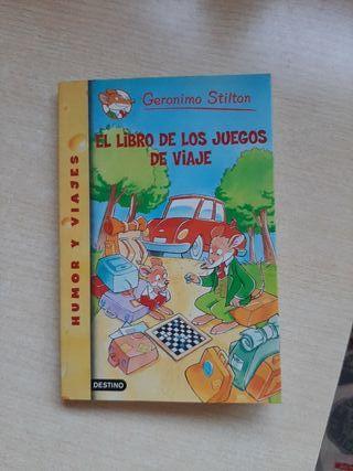 El Libro de los Juegos de Viaje - Gerónimo Stilton