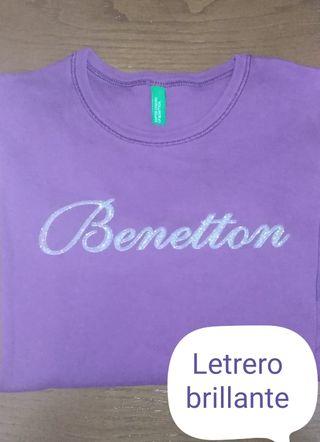 Camiseta BENETTON 11/ 12 años