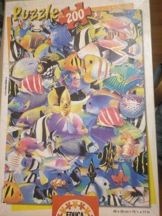 Puzzle peces, 200 piezas