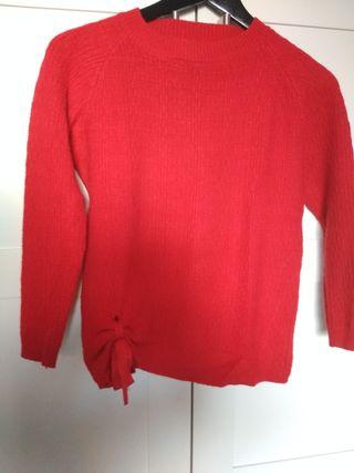 Jersey rojo. Talla S