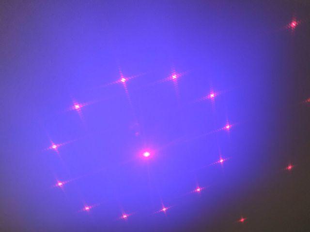 Proyector LED Laser Disco DJ Rojo Verde y Azul