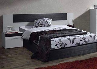 Dormitorio matrimonio,cabezal y mesitas noche