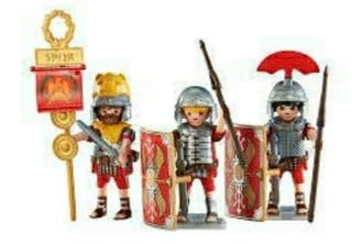 Playmobil Tres Soldados Romanos 6490.