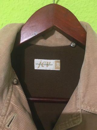 Chaqueta vintage marrón