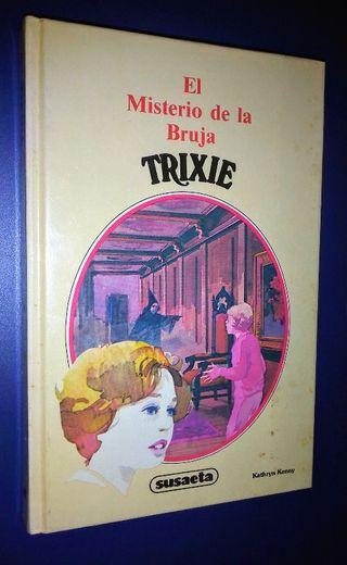 Libro juvenil TRIXIE El misterio de la bruja