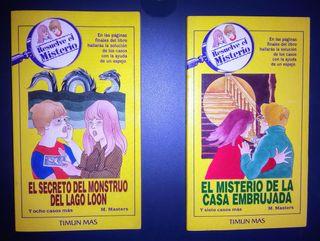 Libros juveniles RESUELVE EL MISTERIO. Timun Mas