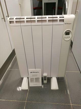 Emisor térmico de bajo consumo. Calor azul