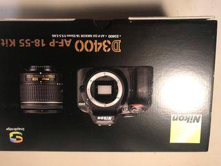 Cámara Nikon + Objetivo D3400 AF-P 18-55 Kit