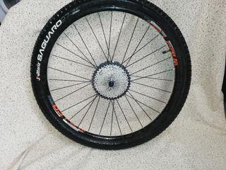 vendo rueda de bicicleta trasera