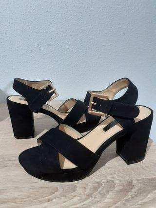 Vendo zapatos de tacón de mujer de segunda mano por 23 € en