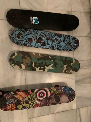 4 Skate uno montado 60e todas