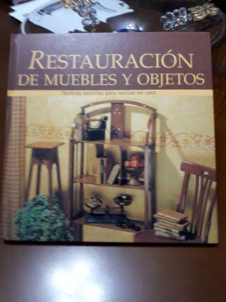 libro restauración muebles y objetos.