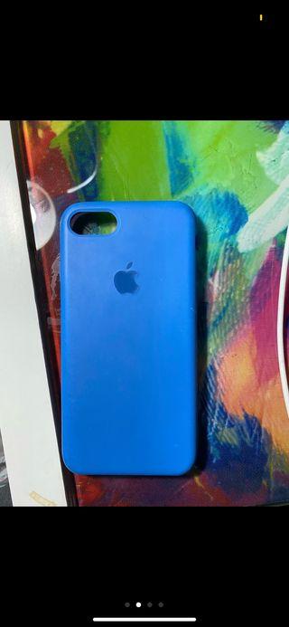 Funda IPhone 7 Azul Manzana