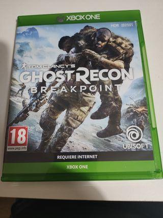 ghost recon break point Xbox one