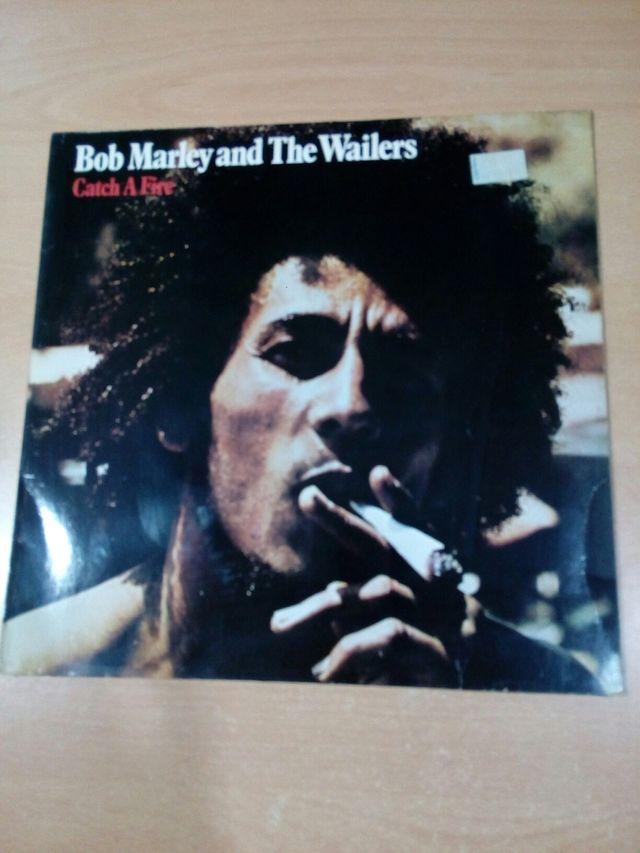 disco vinilo bob marley , lp catch a fire