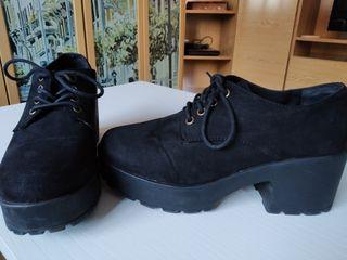 zapatos negros marcas coolway talla 38