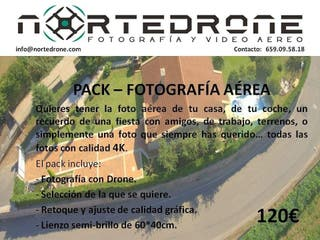Fotografía y Video con Drone