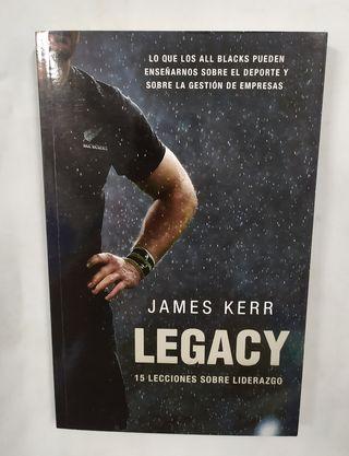 Libro Legacy. 15 lecciones sobre liderazgo.