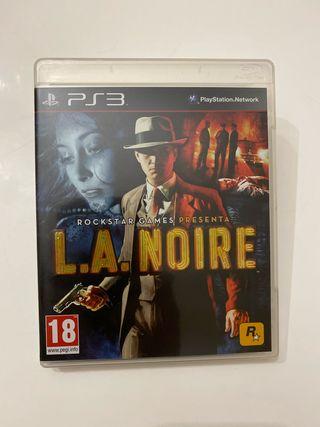 L. A. Noire para PS3