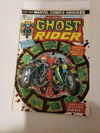 GHOST RIDER 7. 1974 SERIES. MARVEL COMICS.
